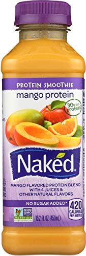 Naked Juice, Mango Protein Zone, 15.2 oz