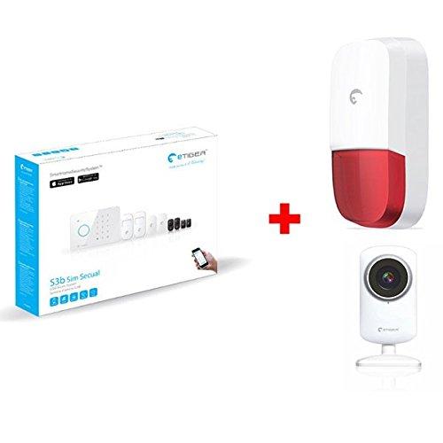 Alarma Casa GSM con cámara y sirena: Amazon.es: Bricolaje y ...