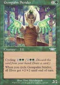 (Magic: the Gathering - Gempalm Strider - Legions - Foil)