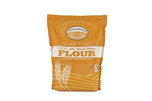 Wheat Montana - Prairie Gold Flour - 2 pack - 5lb bags (Wheat Montana Bread)