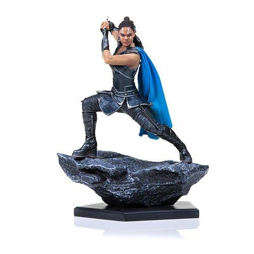 Iron Studios Thor Ragnarok Valkyrie Battle Diorama Figure (Silver Bust Surfer)