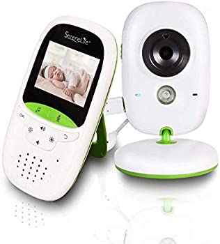 SereneLife Camera and Baby Monitor System with Built-in Thermometer