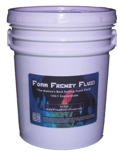 5 Gallons of Foam Frenzy Fluid (Foam Party) 150:1 Concentrate by Foam Frenzy Fluid