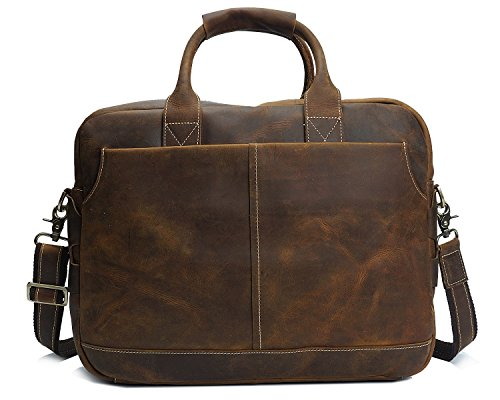 Laptop Per Messenger Ghc Borse Leather E Borsetta Horse Brass Retro Borsa Uomo Crazy pcX4X0qr