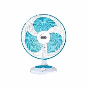 V-Guard Finesta Table Fan – 400mm (Blue&White)