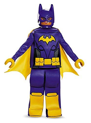 Onceuponasale Batgirl Lego Movie Halloween Costume Purple Medium 7-8 Dress Up Play Bat (China Girl Halloween Costume)