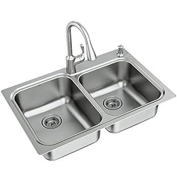 Moen 21595 Lodi Faucet Amp Sink Combination 33 X 22 Quot 18
