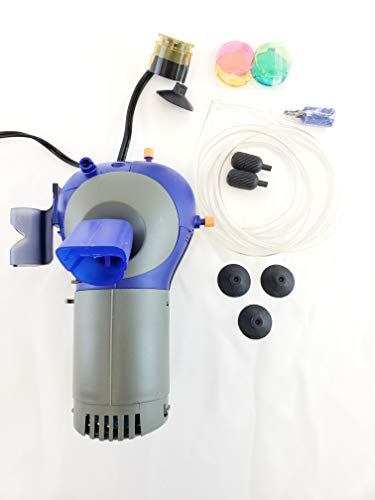 Lifegard WOW Multi-Function Aquarium Filter Pump Model 235 with LED Light