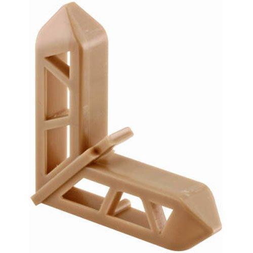 Prime-Line Products PL 15767 Screen Frame Corner, 3/4'' x 7/16'', Bronze Plastic,(Pack of 20)