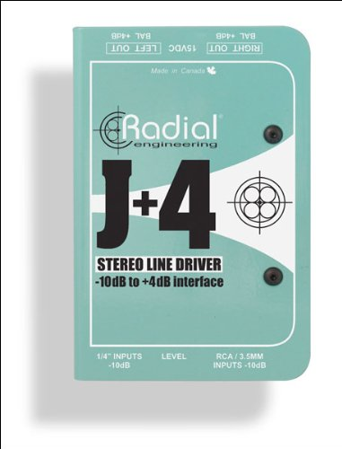 Radial J+4 2-channel Signal Level Driver