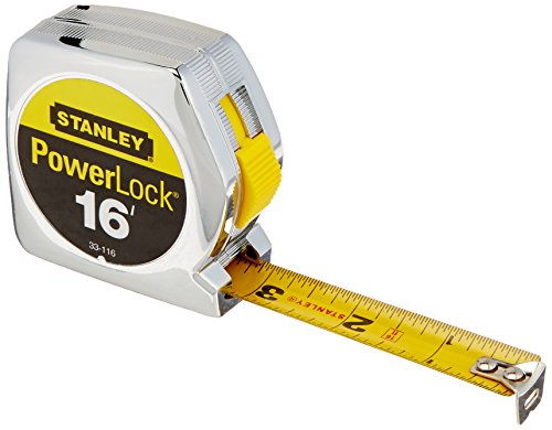 076174331165 - Stanley 33-116 16-Foot PowerLock Tape Rule carousel main 0