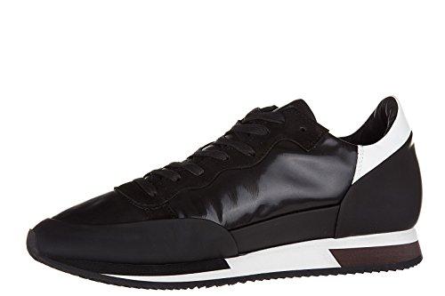 Philippe Model zapatos zapatillas de deporte hombres en piel nuevo chamonix negr