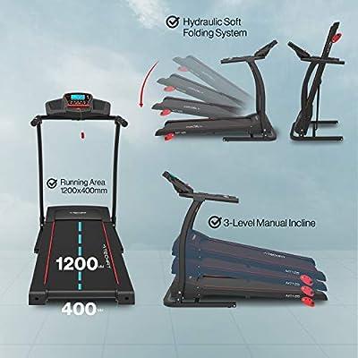 TechFit MT125 Cinta de Correr Eléctrica Motorizada, Sistema de ...
