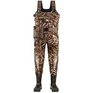 LaCrosse Men's Swamptuff Pro 1000G Waders, Camouflage, 10 M