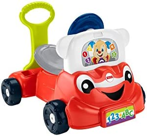 Fisher-Price Red Laugh Learn 3-in-1 Smart Car