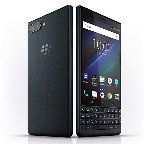 - BlackBerry KEY2 LE BBE100-2 64GB Unlocked GSM Android Phone w/Dual 13MP/5MP Camera - Space Blue/Slate