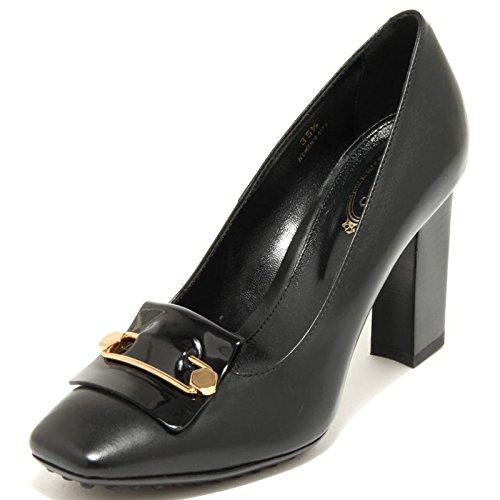 Gomma 4153g Shoes Nero Decollete Donna Scarpa Tod's Fondo gwxXAaO