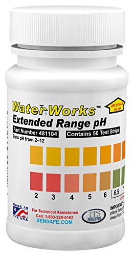 Industrial Test Systems 481104 WaterWorks pH Check