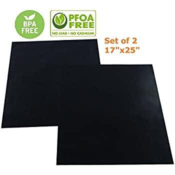 Amazon.com: FitFabHome 3 Pack Large Non-Stick Oven Liners ...