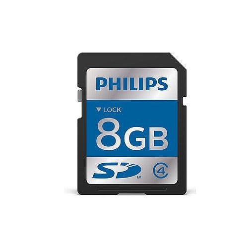 Philips ACC9008 8 GB SDHC Memory Card for Digital Pocket Memo