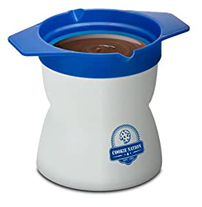 Smart Planet CNB-1SM Milk and Cookie Shot Maker for 6 Cookies, Multicolor