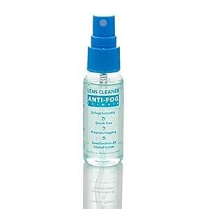 Anti Fog Spray Eyeglass Lens Cleaner, Long Lasting Defogger For Glasses, Goggles, Ski Masks Mirrors and Windows (1 Pack), 1 Oz