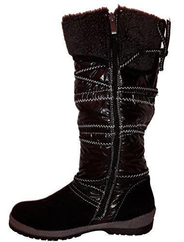 3-w Hoge Limburg Gevoerd High Winter Laarzen Met Rits, Piraat Laarzen, Winter Schoenen, Beige, Bruin Of Zwart, Dames Schoenen, Sti026, Schoen Voor Vrouwen. Zwart