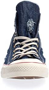 Converse Star Hi Blue Garnet/White