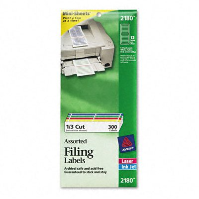 AVE2180 - Avery File Folder Labels on ()