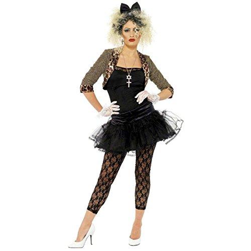 Madonna Women's Classic 80's Boy Toy Wild Child Costume (L)