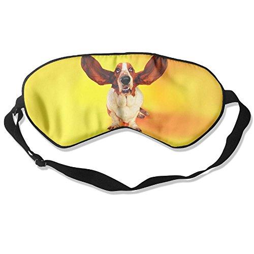 Teesofun Comfortable Sleep Eyes Masks Funny Dog Clip Arts Design Sleeping Mask For Travelling, Night Noon Nap, Mediation Or -
