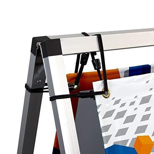 Vispronet - 3ft x 7ft Outdoor Horizontal Banner A-Frame - Sideline Banner Frames by Vispronet (Image #6)