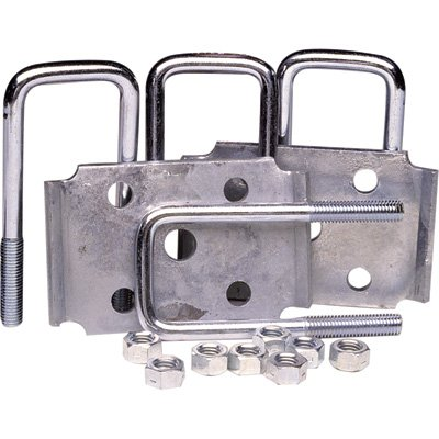 Ultra-Tow Axle Tie Plate Kit - 1 1/2in. Square