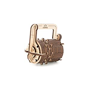 Combination Lock Mechanical Model Construction Kit By Ugears