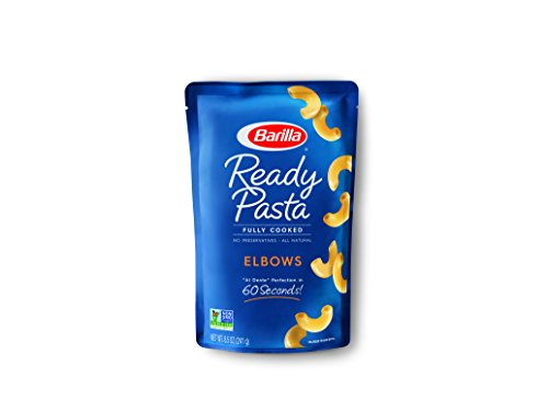 Barilla Ready Pasta, Elbows Pasta, 8.5 Ounces (Pack of 6)