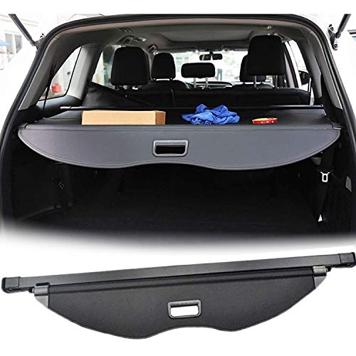 - E-cowlboy 【Upgrade Version】 Black Retractable Rear Trunk Cargo Luggage Security Shade Cover Shield for Ford Escape 2013 2014 2015 2016 2017 2018 2019