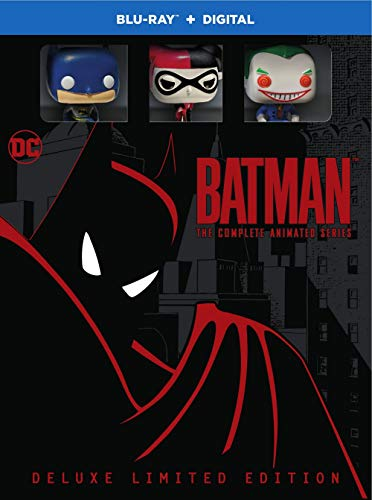Batman  The Complete Animated Series Deluxe Limited Edition  Blu Ray