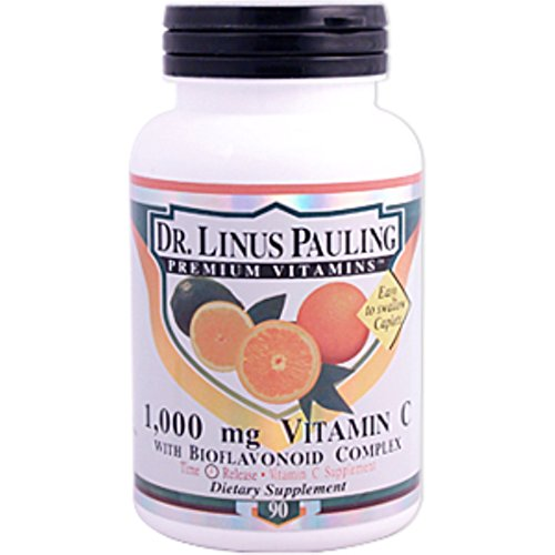 Dr. Linus Pauling Vitamin C with Bioflavonoid Complex -- 1000 mg - 90 Caplets