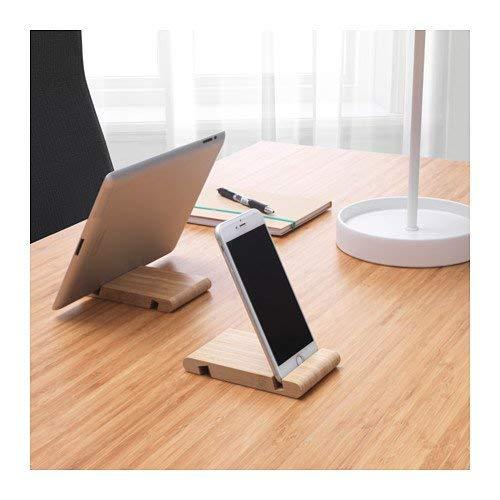 BERGENES Madera teléfono Soporte Funda para Tablet Soporte para Forro de Fieltro IKEA: Amazon.es: Electrónica