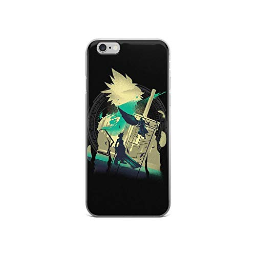 (iPhone 6/6s Pure Clear Case Cases Cover Ex Soldier of VII Silhouette Video Game Art)