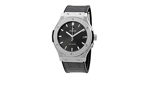 Hublot - Reloj Classic Fusion Racing gris titanio 45 mm para hombre: Hublot: Amazon.es: Relojes