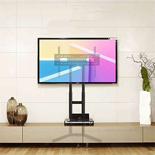 Exing Soporte móvil de la TV, Soporte móvil Universal de la TV para el Plasma LED OLED 32 a 65 Pulgadas de Negro con la...