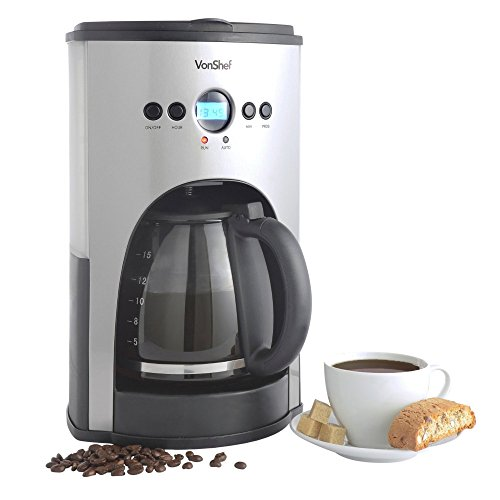 VonShef-High-Quality-Fully-Programmable-Digital-Filter-Coffee-Maker-with-Permanent-Reusable-Filter