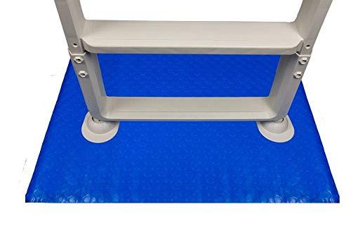 Swimming Pool Ladder Mat Or Step Pad Blue 9
