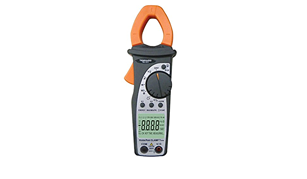 CHUNSHENN Clamp Multimeter, SSEYL TM-1017 400A True-RMS AC Power Clamp Meter Phase Rotation