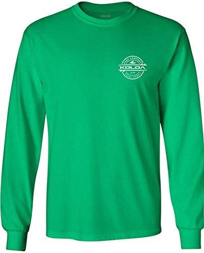 (Joe's USA Koloa Surf(tm) Long Sleeve Thruster Logo Heavy Cotton)