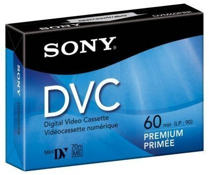 Sony DVM 60PR Premium Mini DV tape 50 x 60min - Metal BIAS by Sony