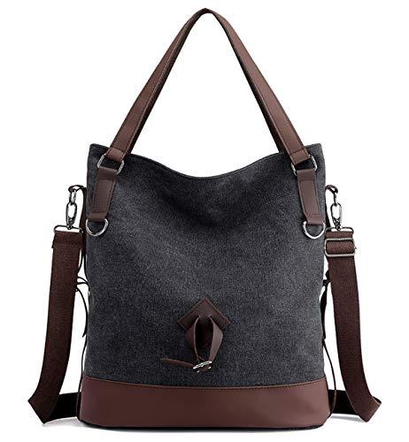 0f9907fa9702 Tom Clovers Canvas Crossbody Messenger Tote Weekender Fashion Bag ...