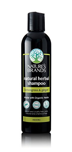 Herbal Choice Mari Natural Shampoo, Lemongrass & Ginger; 8floz, Made with Organic (Shampoo Herbal Lemongrass)