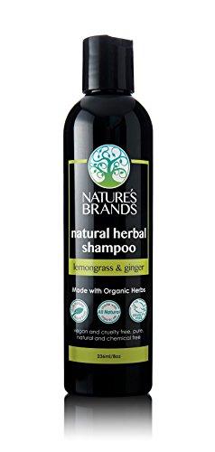 Herbal Choice Mari Natural Shampoo, Lemongrass & Ginger; 8floz, Made with Organic (Lemongrass Shampoo Herbal)